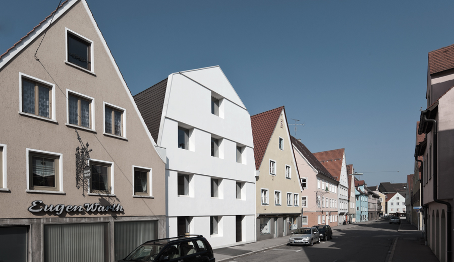 Architekturb ro memmingen weisses haus - Soho architekten ...